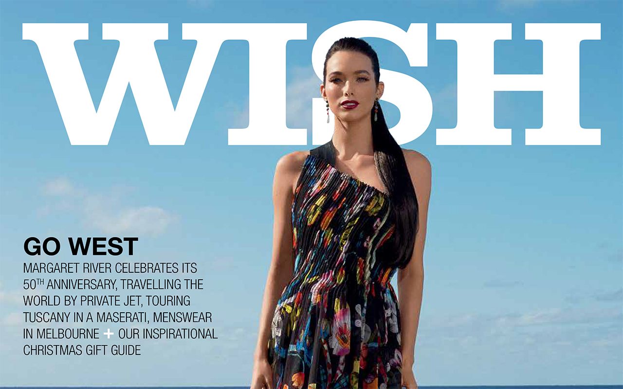 The Margaret River Region features in WISH Magazine