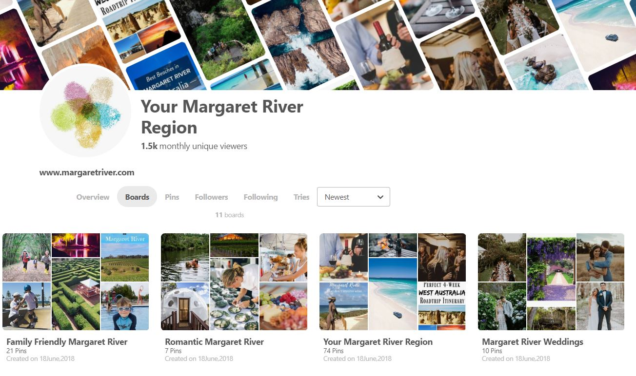 Your Margaret River Region is on Pinterest!