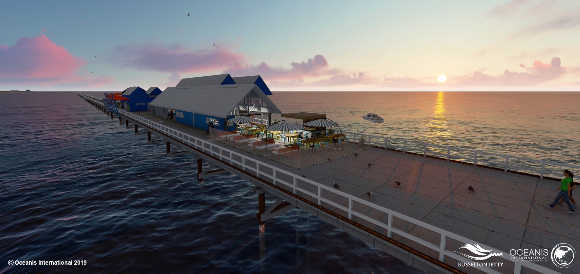 Busselton Jetty Glasshouse Village Update