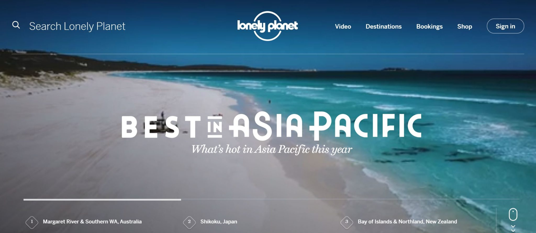 Margaret River and Southern WA named best in Asia Pacific