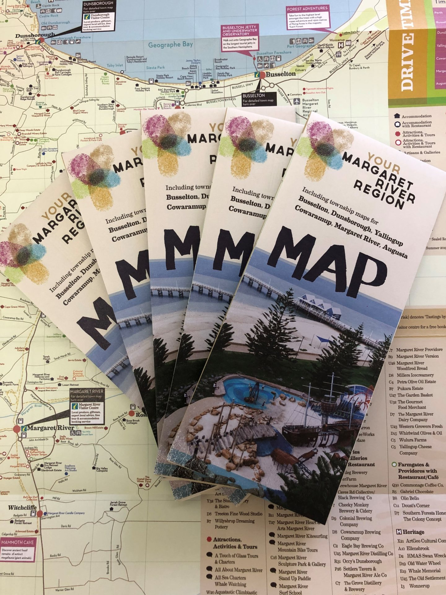 YMRR Tourism Maps In Stock!