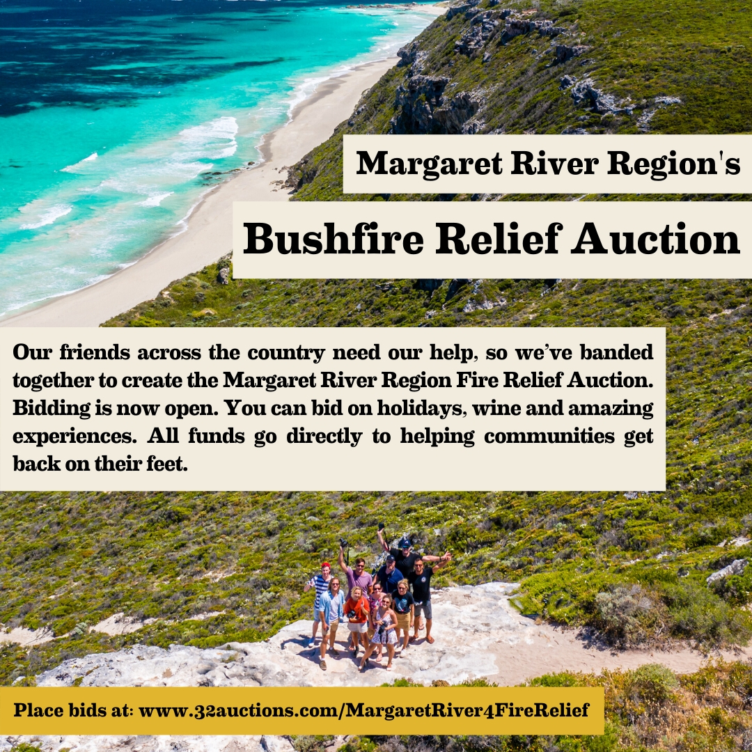Now Live: Online Auction for Bushfire Relief