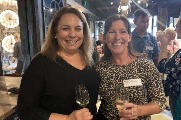 Amanda Whiteland (Margaret River Wine) and Natasha Lynch (Swings & Roundabouts)