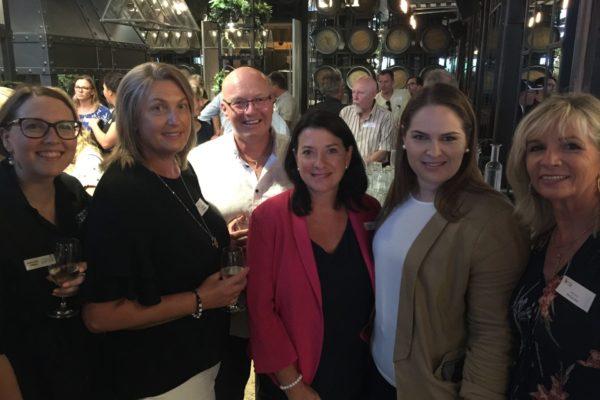 Annabel Owen (ASW), Emma Davies (Mediawriter), Stephen Larcombe (Vanguard Press), Karen Priest (TCWA), Leslee Hall (TCWA), Mia Lacy (Mediawriter)