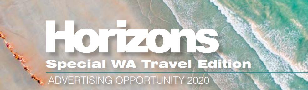 Tourism WA Opportunity: Horizons Magazine