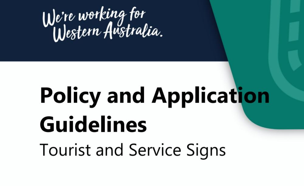 New guidelines for tourism signage eligibility
